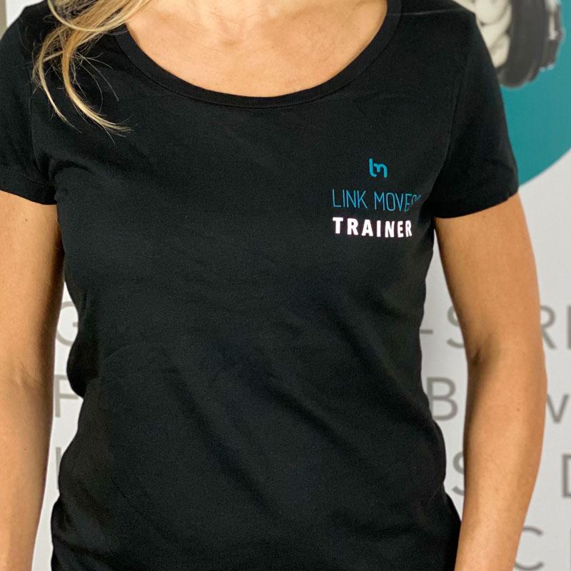 LINKMOVES® Trainer T-Shirt - in Schwarz, Petrol oder Weiß